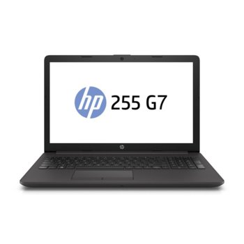 "Лаптоп HP 255 G7 (17T18ES), двуядрен Zen 2 AMD Ryzen 3 3200U 2.6/3.5GHz, 15.6"" (39.62 cm) Full HD Display (HDMI), 8GB DDR4, 256GB SSD NVMe, 2x USB 3.1 (Gen 1), Free Dos, 1.78kg image"