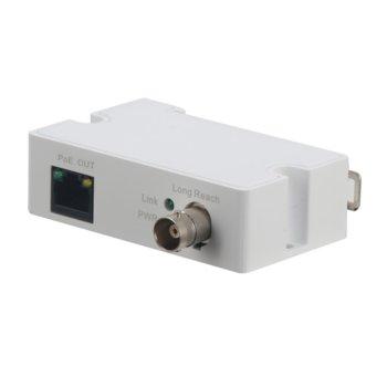PoE удължител Dahua LR1002-1ET, от RJ-45 към BNC, 48V, удължител чрез коаксиален кабел, 10/100Mbps, до 1000м image