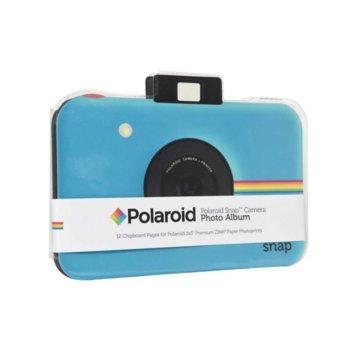 Фотоалбум Polaroid Snap Themed Scrapbook, 12 страници, син image
