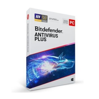 Софтуер Bitdefender Antivirus Plus, за Windows, 1 потребител, 1 година image