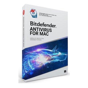Софтуер Bitdefender Antivirus, за MacOS, 1 потребител, 1 година image