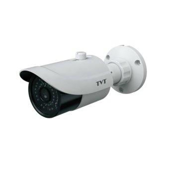 """AHD камера TVT TD-7422AE2(D/FZ/IR2), насочена """"bullet"""", 2 Mpix (1920x1080@25FPS), 2.8-12mm обектив, IR осветеност (до 30 метра), външна, IP66 водоустойчивост image"""