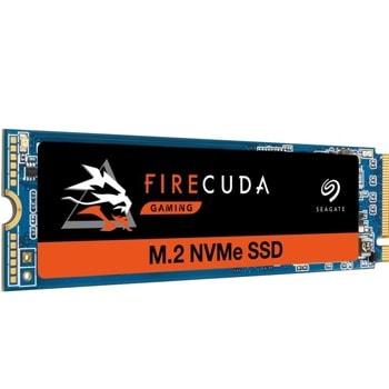 Памет SSD 1TB Seagate Firecude 510, NVMe, M.2 (2280), скорост на четене 3450 MB/s, скорост на запис 3,200 MB/s image