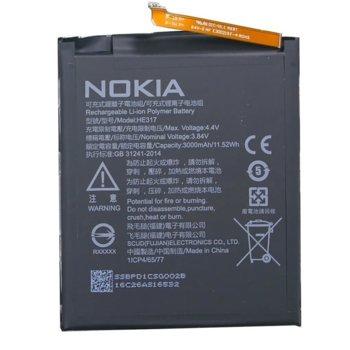 Батерия (оригинална) Nokia HE317, за Nokia 6, 3.84V/3000mAh, bulk package  image
