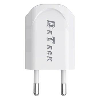 Мрежово зарядно устройство DE-11 14114 5V/1A 220V  product