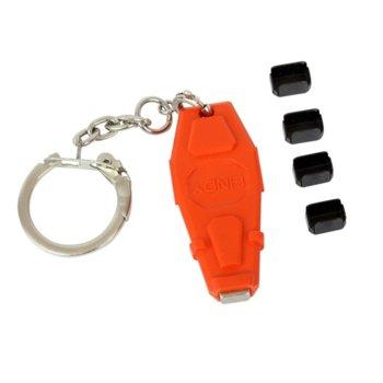 Блокери Lindy 40457, за блокиране на достъпа до Mini-DP/Thunderbolt, 1 ключ, 4 порт блокера image