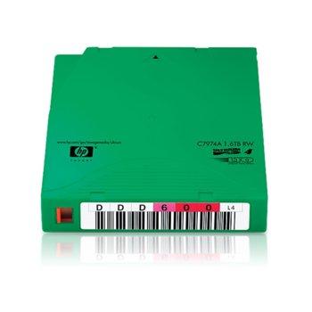 Комплект архивиращи устройства, HP C7974AN, LTO-4 Ultrium, 820 m, 1.6TB, 20 бр. image