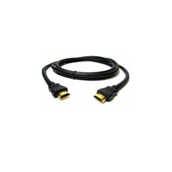 Кабел HDMI(м) към HDMI (м), 1.5 м., черен image
