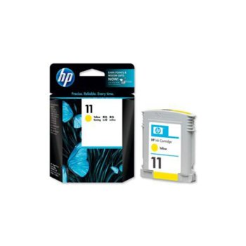 ГЛАВА HEWLETT PACKARD Business Inkjet 2200/2250 printers / Officejet 9110/9120/9130 - Yellow - P№ C4838AE - заб.: 28ml image
