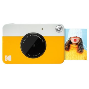 Фотоапарат Kodak Printomatic ZINK RODOMATICYL(жълт), 10 Mpix, MicroSDHC, USB image