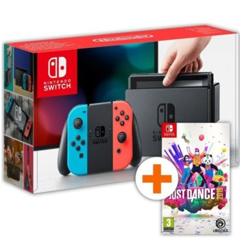 Switch - Red n Blue + Just Dance 2019 Bundle product
