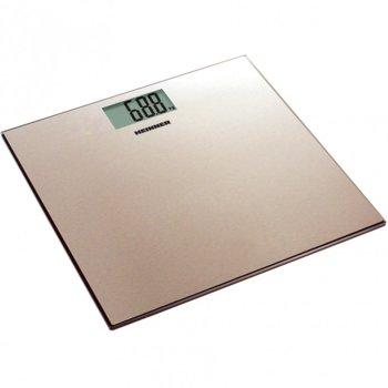 Електронен кантар Heinner HBS-180SSGD, автоматично вкл./икл., LCD дисплей, натоварване до 180 кг, възможност за избор на мерни единици (kg/lb/st) image
