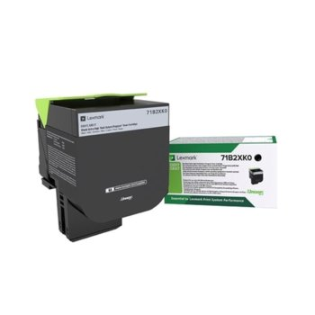 Касета за Lexmark CX517de, CS517de - Black - P№ 71B2XK0 - заб.: 8 000k image