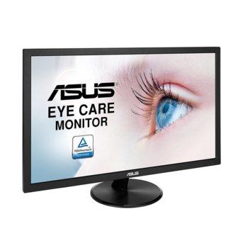 """Монитор Asus VP228DE, 21.5"""" (54.61 cm) TN панел, Full HD, 5ms, 100 000 000:1, 200 cd/m2, D-Sub image"""