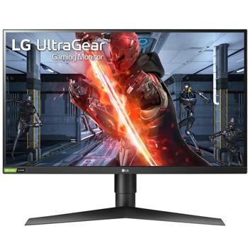 """Монитор LG 27GN750-B с подарък разклонител Allocacoc Power Cube WiFi 9610, 27"""" (68.58 cm) IPS панел, 240Hz, Full HD, 1ms, 400 cd/m2, DisplayPort, HDMI image"""
