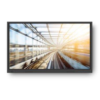 "Интерактивен дисплей Newline Interactive TruTouch TT-8618VN, 86""(218.44 cm) 4K UHD сензорен дисплей, Display Port, 4x HDMI, LAN, 4x USB, RS232 image"