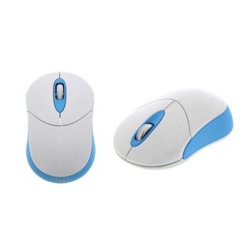 Мишка TnB Candy, 1000 dpi, безжична, USB, синя image