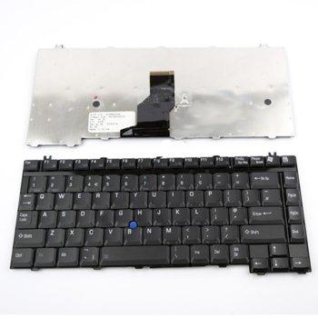 Клавиатура за лаптоп Toshiba, съвместима със серия Satellite M20 Tecra TE2000 TE2100cTE2300, черна image
