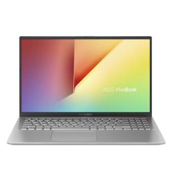"Лаптоп Asus VivoBook 15 X512JP-WB701 (90NB0QW2-M02640)(сив), четириядрен Ice Lake Intel Core i7-1065G7 1.3/3.9 GHz, 15.6"" (39.62 cm) Full HD Anti-Glare Display & MX330 2GB, (HDMI), 8GB DDR4, 256GB SSD, 1x USB 3.1 Type-C, Linux image"