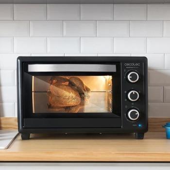 Мини фурна Cecotec BakeToast 650 Gyro, 30 л. обем на фурната, 1500 W, черен image