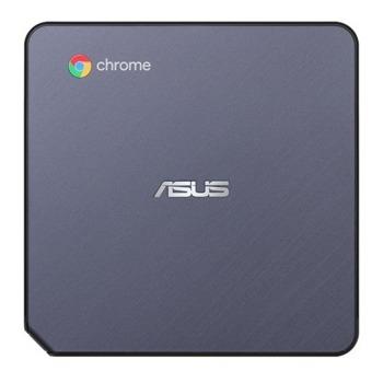 Мини компютър Asus CHROMEBOX3-N3206U, двуядрен Kaby Lake R Intel i3 8130U 2.2GHz, 4GB DDR4, 64GB SSD, 1x USB Type-C, Chrome OS image