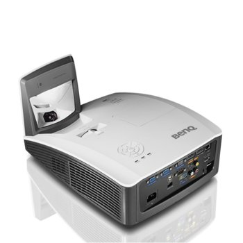 Проектор BenQ MX854UST, 3D Ready, DLP, XGA (1024 x 768), 10 000:1, 3500 lm, 2x HDMI, D-sub, USB A, USB B, RS232, RJ-45, Composite Video image