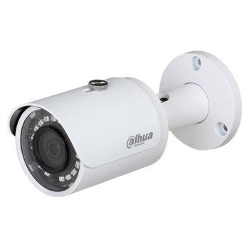 "IP камера Dahua IPC-HFW1431S-0280B-S4, насочена ""bullet"", 4MPix (2688x1520@20FPS), 2.8mm обектив, H.265/H.264H/MJPEG, IR осветеност (до 30 метра), външна IP67, PoE image"