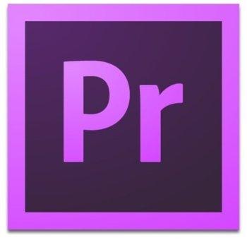 Софтуер Adobe Premiere Pro CC, лиценз за 1 потребител, 1 година, английски image