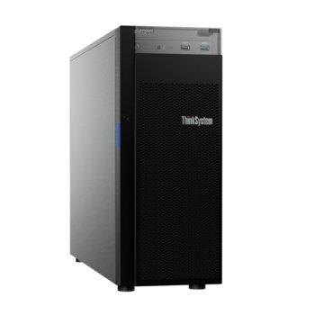 Сървър Lenovo ThinkSystem ST250 (7Y46A04JEA), четириядрен Coffee Lake Intel Xeon E-2224 3.4/4.6 GHz, 16GB DDR4, без твърд диск, 2x 1GbE, No OS, 1x 550W PSU image