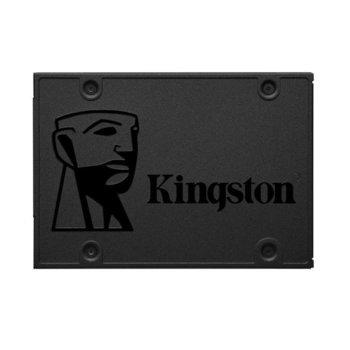 "Памет SSD 240GB Kingston A400 Series SA400S37/240G, SATA 6Gb/s, 2.5""(6.35 cm), скорост на четене 500 MB/s, скорост на запис 350MB/s image"