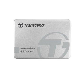 """Памет SSD 1TB Transcend SSD230, SATA 6Gb/s, 2.5"""" (6.35 cm), скорост на четене 560MB/s, скорост на запис 520MB/s image"""