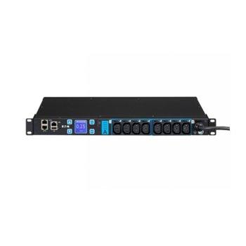 Eлектрически филтър Eaton Basic ePDU EMAH28, 1U, 8x IEC-320-C13, 1x IEC-320-C20 image