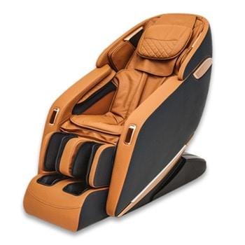 Масажен стол Rexton Z1-CP, 3D масаж, 12 автоматични програми, функция загряване, вграден пулт за управление, Bluetooth, златист image