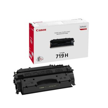Тонер касета за Canon LBP6300/6650/6670/6680/MF5840/5880/5940/5980/6140/6180, Black - CRG-719HBK - P№ 3480B002AA, заб.: 6400 брой копия image