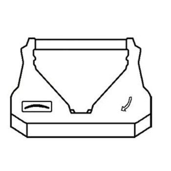 ЛЕНТА ЗА МАТРИЧЕН ПРИНТЕР EPSON ERC 38/34/30/MICROS AUTOCUT 2000/4000 - Black/Red - P№ RR-EP ERC30 BR - G&G Неоригинален image
