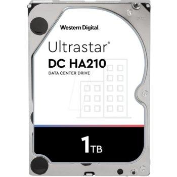 """Твърд диск 1TB Western Digital Ultrastar DC HA210, SATA 6Gb/s, 7200rpm, 128MB кеш, 3.5"""" (8.89cm) image"""