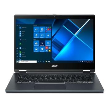 "Лаптоп Acer TravelMate Spin P414RN-51-30KF (NX.VP4EX.009)(син), двуядрен Tiger Lake Intel Core i3-1115G4 3.0/4.1 GHz, 14"" (35.56 cm) Full HD IPS Glare Touchscreen Display, (HDMI), 8GB DDR4, 256GB SSD, 1x Thunderbolt 4, Windows 10 Pro image"