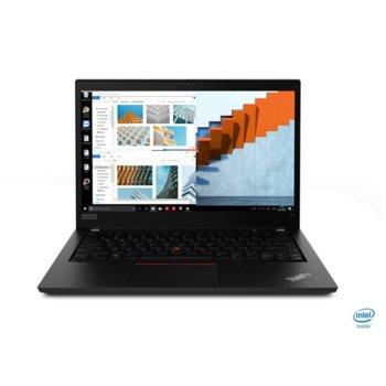 "Лаптоп Lenovo ThinkPad T14 (20S0000NBM), четириядрен Comet Lake Intel Core i7-10510U 1.8/4.9 GHz, 14.0"" (35.56 cm) Full HD IPS Anti-Glare Display, (HDMI), 16GB DDR4, 512G SSD, 1x Thunderbolt 3, Windows 10 Pro image"