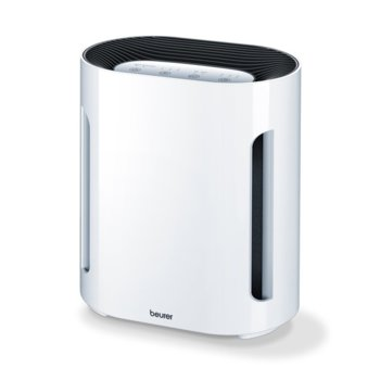 Пречиствател на въздух Beurer LR200, 50W, за помещения до 15 м2, HEPA филтър, 3 настойки, функция за пречистван с йони, бял image