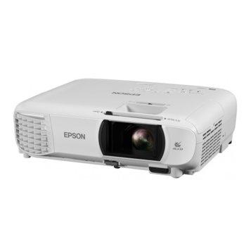 Проектор Epson EH-TW650, 3LCD, Full HD (1920 x 1080), 15,000:1, 3100 lm, HDMI, USB Type A, USB Type B, VGA, Wi-Fi image
