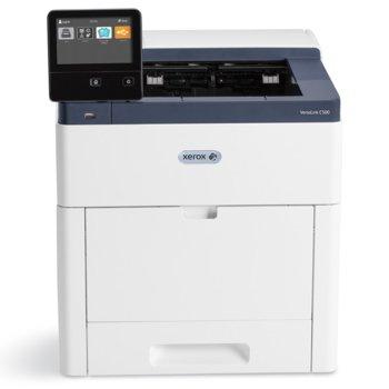 Лазерен принтер Xerox VersaLink C500, цветен, 1200 x 2400 dpi, 43 стр/мин, LAN1000, NFC, USB 3.0, A4 image