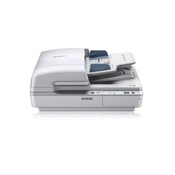 Скенер Epson WorkForce DS-7500, 1200x1200 dpi, А4, двустранно сканиране, ADF, USB, Lan,  image