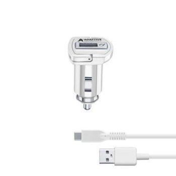 Cellularline IT4681 2/24V с USB-C кабел Бяло product
