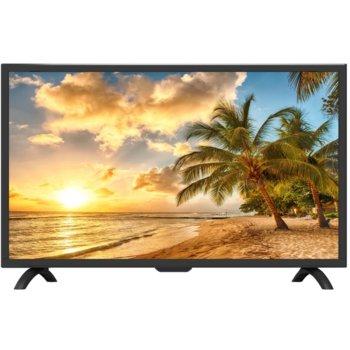 "Телевизор Crown 22J230FHD, 22"" (55.88 cm) FULL HD LED LCD TV, DVB-T/T2/C/MPEG4, HDMI, USB, VGA, SCART image"