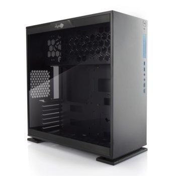 Кутия In-Win 303, ATX/Micro-ATX/Mini-ITX, 2x USB 3.0, черна, без захранване image