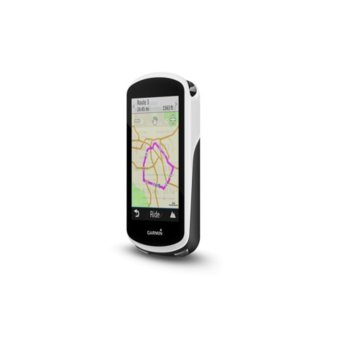 "Навигация за велосипеди Garmin Edge 1030, 3.5"" (8.89 cm) дисплей, GPS, Wi-Fi, Bluetooth, 16GB вградена памет, до 20 часа време за работа, microSD слот, IPX7 водоустойчивост, основна карта image"
