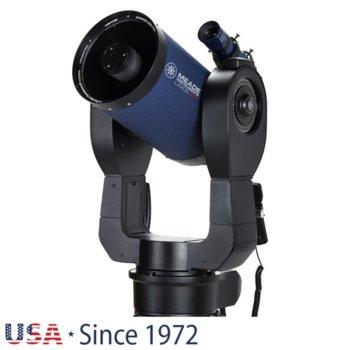Телескоп Meade LX200 8 f/10 ACF без триножник, 8x50 mm с решетка с кръстче оптично увеличение, 203mm диаметър на лещата, 2000mm фокусно разстояние image