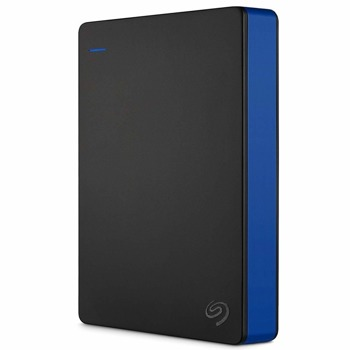 """Твърд диск 4TB Seagate Game Drive (черен), външен, 2.5"""" (6.35 cm), USB 3.0, предназначен за PlayStation 4 image"""