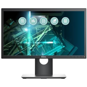 """Монитор Dell P2018H, 20"""" (50.80 cm) TN панел, HD+, 5ms, 1000:1, 250cd/m2, DP, HDMI, VGA, USB 3.0 Hub image"""