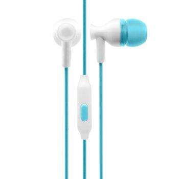 Слушалки IN-133, микрофон, за мобилни устройства, различни цветове image